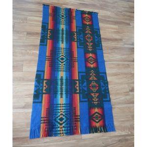 Pendleton Inspired Navajo Tribal Blanket